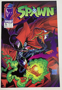 Spawn #1 Key Issue Near Mint Boarded & Bagged Since Purchase Never Read