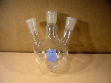 3 Hals - Rundkolben 100 ml Inhalt 3 x NS 14 Schliff Destillierkolben Kolben