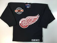 Detroit Red Wings NHL Hockey CCM Center Ice Jersey Shirt Boys S/M