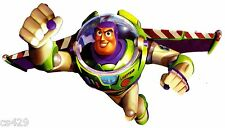 """9.5"""" DISNEY TOY STORY BUZZ LIGHTYEAR PEEL STICK WALL BORDER CUT OUT CHARACTER"""