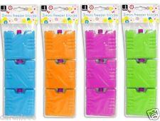 Set di 3 mini ghiaccio Mattone Pack blocco blocchi Congelatore COOLER Borsa Casella Picnic Viaggio
