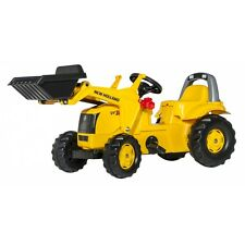 Rolly Toys New Holland W190C Lader Traktor mit Frontlader Trettraktor gelb