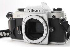 FedEx【EXC+++++】Nikon FG 35mm SLR Film Camera Silver Body only from JAPAN