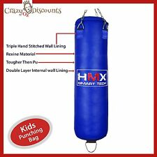 Kids Kick Boxing KICKBOXING Punching Bag Gloves Set MMA Training Junior UnFilled