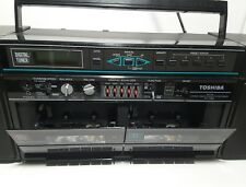 Toshiba AM FM Stereo Radio  Cassette Recorder RT-7066