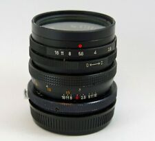 Telesar 35mm F2.8 with T-Mount with Olympus OM Adapter