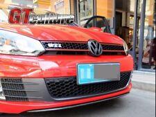 FOR Carbon Fiber Front Center Lip Kits Fit for VW Golf 6 VI MK6 GTI Bumper 10-13