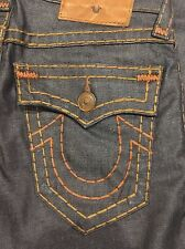 TRUE RELIGION RICKY SUPER-T MEN JEAN DFKD STORMY NIGHT M859NYJ6 NWT 33W $329 USA