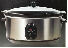 NEW 3.5L SLOW COOKER ELECTRIC FOOD COOKING POT SMALL KITCHEN APPLIANCE DEVICE
