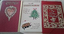 NEW! ROMANTIC XMAS CARD FOR WIFE/HUSBAND/LOVER~RETAILS $6.29 + FREE SHIPPING!