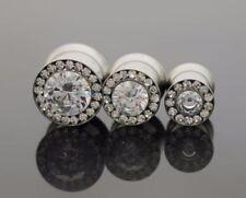 Diamond Body Piercing Jewellery Lobe