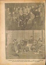 Réunion Aviateur As Pilote Aéro-Club Paris/Officiers Armée WWI 1917 ILLUSTRATION
