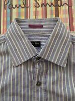 "PAUL SMITH Men's SHIRT - 15"" Collar - Lovely style"