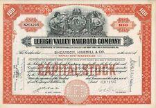 Lehigh Valley Railroad Company, Pennsylvania, 1945 (100 Shares)
