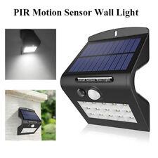 ARILUX Solar 15 LED Wall Light Motion Sensor Outdoor Garden Path Lamp Waterproof