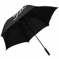 New Titleist golf PLAYERS DOUBLE CANOPY Umbrella black
