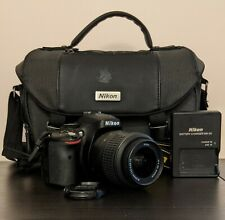 Nikon D5100 w/ AF-S Nikkor 18-55mm Len with Nikon Camera Bag