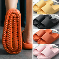 2020 Latest Technology-super Soft Home Slippers Non-slip Home Indoor Shoes Solid