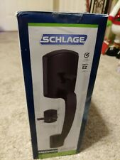 Schlage Lock Company Camelot Front Entry Handle Matte Black