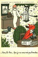Publicité ancienne  pharmaceutique Labo Le Brun Jean Effel mars 1960