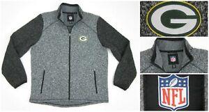 NEW! G-III Sports Green Bay Packers Alpine Zone Sweater Fleece Lined Jacket XL