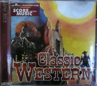 CD CLASSIC WESTERN De Masi Lavagnino Bacalov De Angelis LIBRARY Score Soundtrack