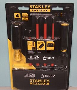 Stanley FATMAX Insulated 7 Pc Screwdriver Set 1000V ( FMHT62286 ) New Sealed