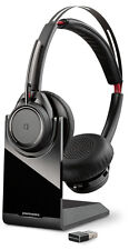 New Official Plantronics Voyager Focus UC Bluetooth USB B825-M Headset - Black