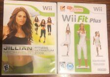 Wii Fit Plus & Jillian Michaels' Fitness Ultimatum (Nintendo Wii)