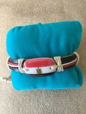 Set Of 9 Leather Bracelets