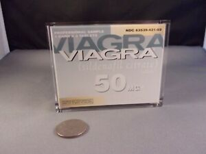 Viagra Doctor's Sample Box Desk Display Paperweight