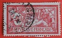 TIMBRE FRANCE  N°119  TYPE MERSON (TB- 740-0) 40 c OBLITÉRÉ CaD PARIS