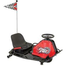 Razor 25143490 Crazy Cart Electric Go Cart - Black
