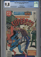 NEW ADVENTURES OF SUPERBOY #37 MT 9.8 CGC HIGHEST 1 OF 1 CANADIAN PRICE VARIANT