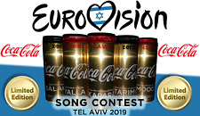 *LIMITED EDITION* Coca Cola Eurovision 2019 in TLV / GOLD / *LIMITED SUPPLY*