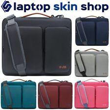 Laptop Notebook Case Sleeve Computer Bag Pockets Shoulder Strap Carry Handbag