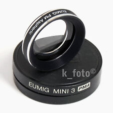 Eumig Mini 3 PMA * PM Aspheric * Super-8-Weitwinkel