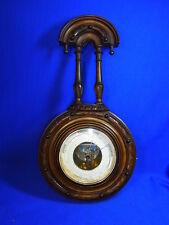 Antique German Wood  Barometer Historismus Historism 1880 #<