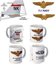 "VA-196 ""Main Battery"" A-6 Intruder Mug"