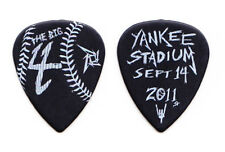 Metallica Big 4 Black Yankee Stadium Guitar Pick - 2011 Tour James Hetfield