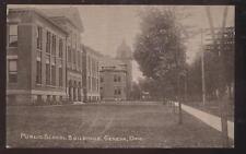 Postcard GENEVA,Ohio/OH    Public School Buildings Campus view 1907?