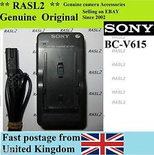Original sony chargeur BC-V615 np-F550 F530 F730 mavica FD87 GV-D800 HDR-FX1