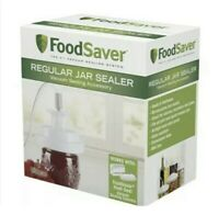 New FoodSaver Regular Mouth Mason Jar Sealer - Ships Fast
