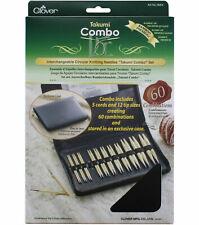 Clover Takumi Combo Set Bamboo Interchangeable CIRCULAR Knitting Needles 3683