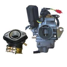 Vente ~ Carburateur Collecteur d'Admission Kit Convient pour GY6 150cc Scooter Cyclomoteur Roketa Carb