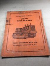 Allis Chalmers HD15 Tractor Operators Manual