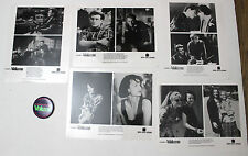 Pump Up The Volume 1990 film photo press kit and badge pin Christan Slater