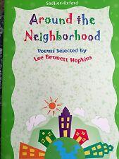 Teacher Big Book AROUND THE NEIGHBORHOOD Kindergarten 1st Oversized POEMS