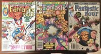 Marvel Comics Fantastic Four  250 251 253 Newsstand Edition