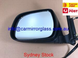 NEW DOOR MIRROR FOR TOYOTA HILUX 2005 - 2010 (LEFT, SIDEBLACK, ELECTRIC ADJUST)